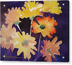 Color And Whimsy Acrylic Print by Marilyn Jacobson