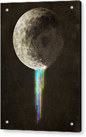 Color Bleed Acrylic Print by Eric Fan