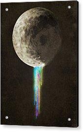 Color Bleed Acrylic Print