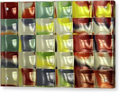 Acrylic Print featuring the photograph Color Blocks by Geraldine Alexander