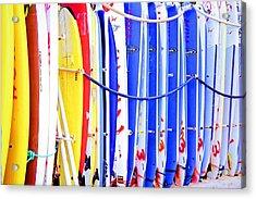 Color Boards Acrylic Print