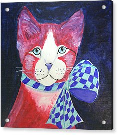 Color Cat 10 Acrylic Print