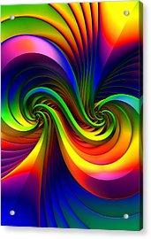 Color Circus Acrylic Print