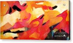 Color Dynamics Acrylic Print by Lutz Baar