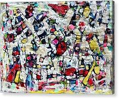 Color Fest Of Love Acrylic Print by Hari Thomas