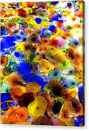 Acrylic Print featuring the photograph Glass Palette  by Irina Hays