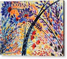 Color Flurry 3 Acrylic Print