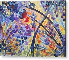 Color Flurry Acrylic Print