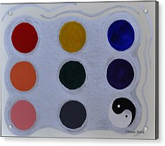 Color From The Series The Elements And Principles Of Art Acrylic Print