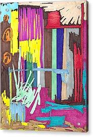 Color Fun Iv Acrylic Print by Teddy Campagna
