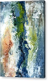 Color Harmony 10s Acrylic Print by Emerico Imre Toth
