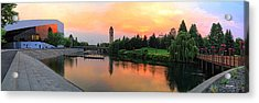 Color In The Park Acrylic Print by Dan Quam