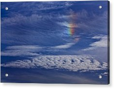 Color In The Sky Acrylic Print by Janice Carter