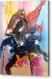 Color Jumble Acrylic Print by Angelo Terracciano