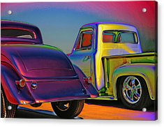 Acrylic Print featuring the photograph Color Me A Hot Rod by Christopher McKenzie
