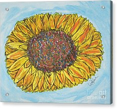 Color Me Sunshine Acrylic Print