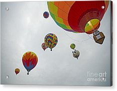 Color My Morning Acrylic Print by Nick  Boren