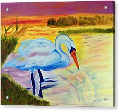 Color My World Acrylic Print