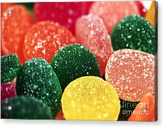 Color Of Flavor Acrylic Print by John Rizzuto