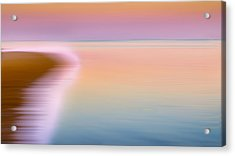 Color Of Morning Acrylic Print by Bill Wakeley