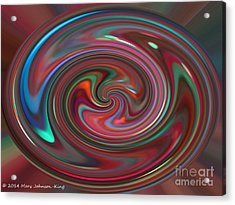 Color Painting Acrylic Print