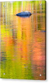 Color Reflections-1 Acrylic Print by Michael Hubley