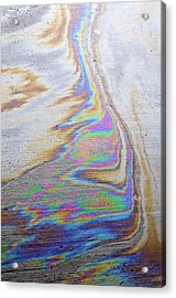 Acrylic Print featuring the photograph Color Swirl by Geraldine Alexander