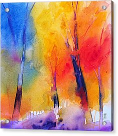 Color Symphony Of The Wodd Acrylic Print by Alessandro Andreuccetti