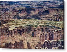 Color Variety At Canyon Lands Acrylic Print