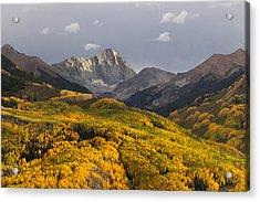 Colorado 14er Capitol Peak Acrylic Print by Aaron Spong