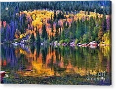 Colorado Autumn Acrylic Print by Jon Burch Photography