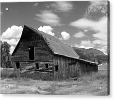 Colorado Barn Acrylic Print