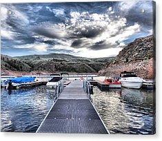 Colorado Boating Acrylic Print by Dan Sproul