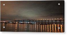 Coronado Bridge San Diego Acrylic Print
