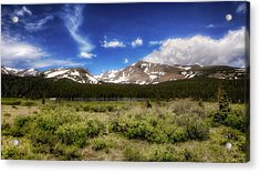 Colorado Dream'n Acrylic Print