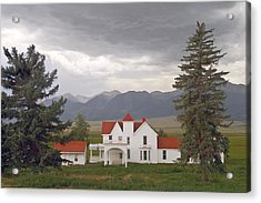 Colorado Farmhouse Photo Acrylic Print by Peter J Sucy