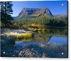 Trapper's Lake Sunrise Acrylic Print