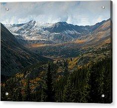 Colorado Glory Acrylic Print