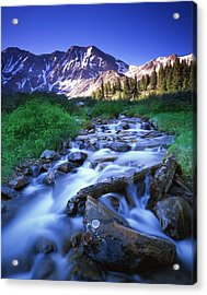 Colorado High Country Acrylic Print by Ray Mathis