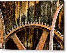Colorado Mining Gear Acrylic Print