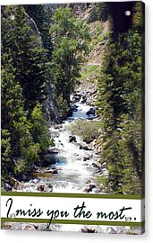 Colorado On My Mind Acrylic Print