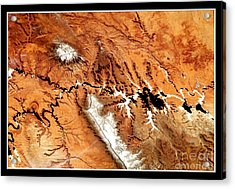 Acrylic Print featuring the photograph Colorado Plateau Nasa by Rose Santuci-Sofranko