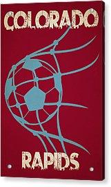 Colorado Rapids Goal Acrylic Print