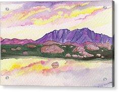 Colorado Reflections Acrylic Print