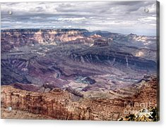 Colorado River At Grand Canyon Acrylic Print