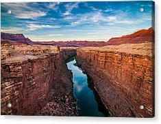 Colorado River At Marble Canyon Acrylic Print