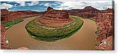Colorado River Gooseneck Acrylic Print
