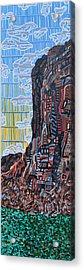 Colorado River Acrylic Print by Micah Mullen