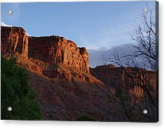Colorado River Sunrise Acrylic Print by Michael J Bauer