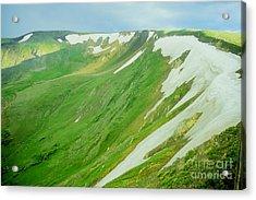 Colorado Snow Vista Acrylic Print by Teri Brown